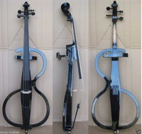 4/4 New Solidwood Electric Cello Nice Sound Black