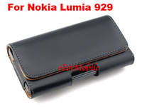 Free Shipping PU Case Belt Clip Case Mobile Phone Case Mobile Phone Pouch For Nokia Lumia 929