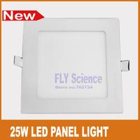 Ultra thin 25W LED downlight flat panel lamp 2450lm high quality White foyer bedroom kitchen lighting bulb
