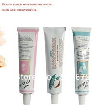 Free Shipping 10 PCS Hand Cream Lotions Coconut Peach Flavor   75ml