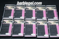 10 cases/lot  14mm C Curve 0.10 thickness MINK eyelash extension artificial eyelash Fake  False Eye Lash Eyelashes  false lashes