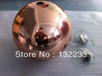 2014 Wholesale Single 30CM  copper Mirror Ball lamp moderns pendant lights tom dixon lamp fixture,lamp for room  L11-30