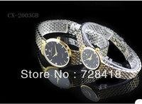Brand New Luxury Pagani Design Golden Rhinestone Business casual Dress Gift watch fashion Men's Women' watch Lover's watches