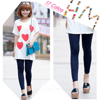 2013 New Fashion Leggings Candy Color Women's High Stretched Yoga Autumn Summer Best Selling Neon Leggings