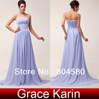 Freeshipping 2014 A-line Floor Length elegant off-shoulder waist beads cheap in stock long evening dress CL6011