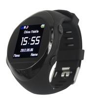 PG88 watch Mobile phone,GPRS,GPS,GSM  LCD,MP3 FM,satellite gps watch wrist length table child locator