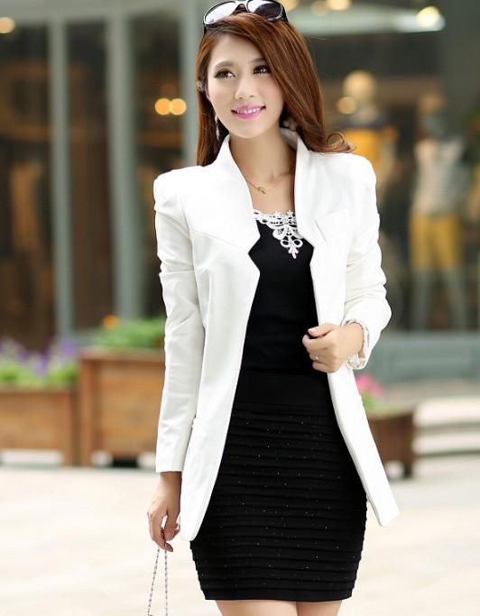 Женский пиджак 2015 blazer s/xl