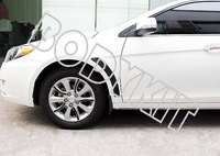 Free shipping Mitsubishi  Lancer CJ ES Evo 10 style guards fender vents PP a pair (Black)