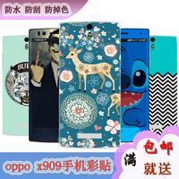 For oppo  x909 cartoon stickers find5 sticker color film  for oppo   full-body multicolour colorful film