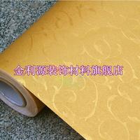 10m*45cm kids New arrival thickening gold Emboss wallpaper pvc boeing film tv  home decor