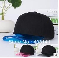 Baseball cap wide-brim han edition hip-hop duck tongue chun xia men and women transparent brim hat shading uv protection