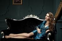 2014 spring autumn cute womens silk satin 2 piece sleep suit or 2 pcs pajama sets sleepwear big plus size lounge 3XL 2XL XL L M