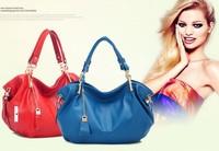 2013 bag genuine leather pendant women's handbag fashion casual fashion handbag messenger bag