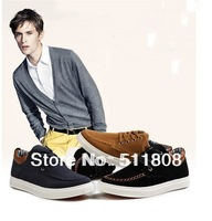 sport shoes platform wedge sneakers for 2013 fashion the men's shoes Low to help canvas sneakers are man