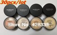 New Prevent bask loose powder,bareMinerals bare Minerals Escentuals SPF15 Foundation, 8g(30 pcs/lots)