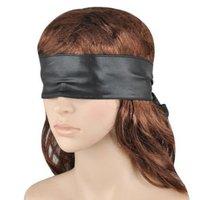 Love Eye Mask Eye Blindfold Cover Band Blinder Black