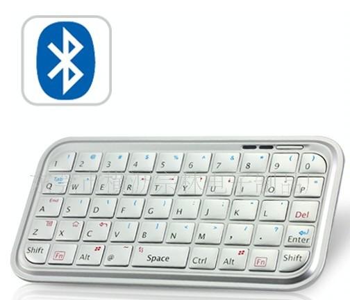Brand New mini slim Bluetooth Wireless White/Black Keyboard for PS3 PC Macbook aMac usb pad phone 1/2/3/4/5s mobile(China (Mainland))