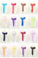 chair sashes for weddings,satin sashes,bow tie,Lime Green colour