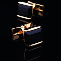 Gold cufflinks male french cuff shirt sleeve