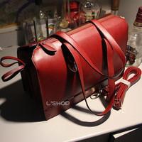 Fashion 2013 document vintage messenger bag one shoulder cross-body handbag large bag female bags