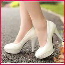 Mulheres baratos Bombas Sexy de casamento sapatos de salto alto senhoras bombas de trabalho Office Lady sapatos 4 cores(China (Mainland))