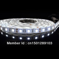 Cool White LED Flexible Strip 5050SMD 300pcs(60led/meter) IP65 Waterproof(glue)-5 meters