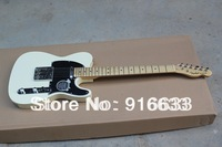 HOT wholesale New Arrival Factory Guitar Top Quality Classical F Telecaster Custom In Cream White Electric Guitar Free Shipping