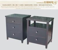 80 solid wood bedside cabinet brief bedsprings american style sofa side cabinet