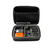New Carry Case GoPro Bag Box Full Protection With Battery Space ForHero3+ Hero3 Hero2 Gopro Camera Accessories