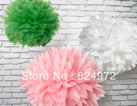 5000pcs Wholesale beautiful paper flower ball 25cm(10 inch) Tissue paper flowers Craft Paper Flower Decoration
