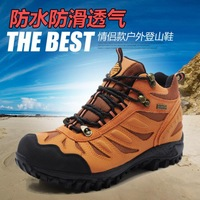2014 ED3010 genuine leather hiking shoes Sneakers unisex Outdoor Casual walking shoes Hiking boots Climbing shoes size35-45