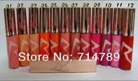 Free Shipping! HOT NEW Makeup rihanna RiRi Hearts lipgloss /lip gloss 12 color choose (6pcs/lot)