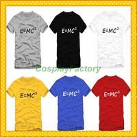 Free Shipping O-Neck Big Bang E MC Fashion Cotton Tshirt,0.6kg/pc