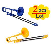 Best Gift,  Plastic Trombone Tenor -2 pcs