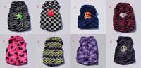 new brand low price 10pc/lot Fashion Cute Dog Vest Pet sweater Shirt Soft Coat Jacket Autumn&WINTER Clothes