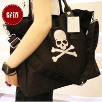 free shipping mastermind female bags skull women's messenger bag Handbags large canvas tote female shoulder bag