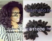 best human hair aunty funmi 1b# 6a quality peruvian virgin bouncy curl human hair weave 3pcs/lot free shipping