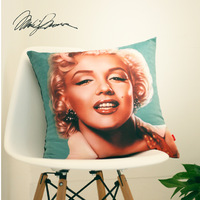 home textiles 4pcs/set Vintage home bar monroe sofa pillow  cushion cover