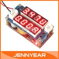 DC Buck Voltage Regulator DC 5V-30V to 0.8V-29V 5A Constant voltage constant current Charger + 2in1 Volt Amp Panel Meter #090627