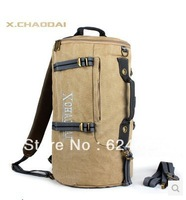 2014 NEW duffle bag handbag one shoulder backpack multifunctional canvas sports gym bag men travel backpack