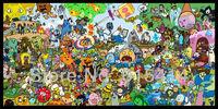 "010 Adventure Time  -jake Finn Hot Anime 24""x48"" Poster"
