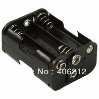 6 x AA Battery Holder, 750V AC/Minute Withstanding Voltage ,50pcs/lot