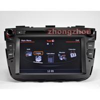 Free Shipping A8 Dual Core Kia Sorento 2013 GPS DVD Audio Player 1GB CPU 512M DDR V-20 3-ZONE RDS BT DVR 3G WIFI 1080P Sorento