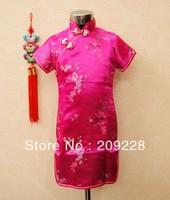 New baby girl's summer dress/Children dress/kids flower princess lace dress/Oriental Beauty China cheongsam&qipao