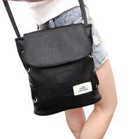 HOT SALING! Korean Style Fashion vintage solid color shoulder bag women's handbag leather bag Satchel Messenger Bag Totes bag