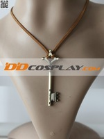 Free Shipping! Attack on Titan Eren Jaeger Key Necklace Cosplay Props Accessories