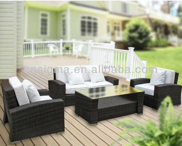 Online kopen wholesale garden lounge set uit china garden lounge set groothandel - Moderne lounge stijl ...