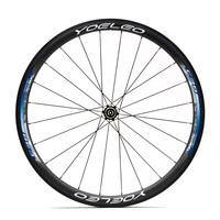 U Shape 23mm Wide Road Bike Carbon Wheels 700C Clincher 38mm 20H/24H Ceramic Bearings + Sapim Spokes + Straight Pull Hubs
