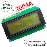 Free Shipping LCD2004 2004A 20x4 Character LCD Display Module KS0066U Controller Green backlight  1PCS