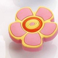 Lovely Children Cabinet Wardrobe Cupboard Knob Drawer Doors Pulls Handles Pink Flower MBS089-3